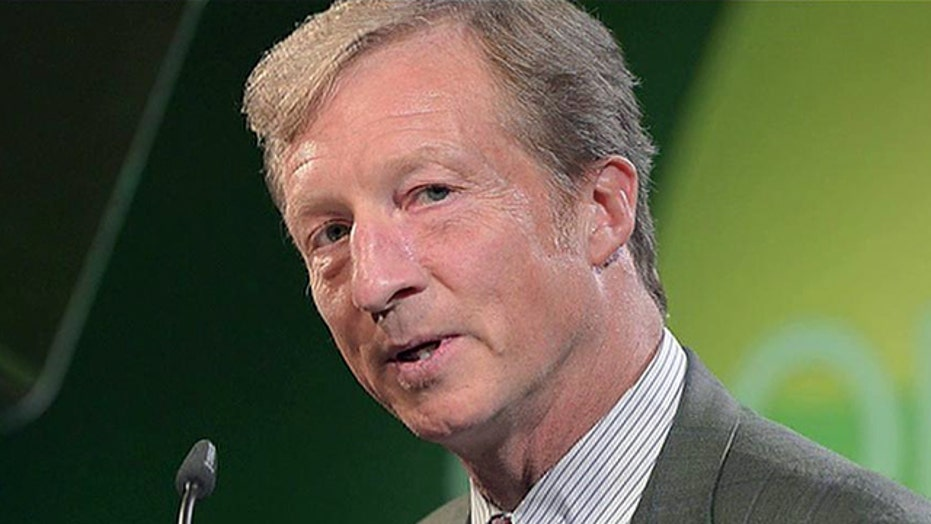 Tom Steyer raising campaign funds for climate change