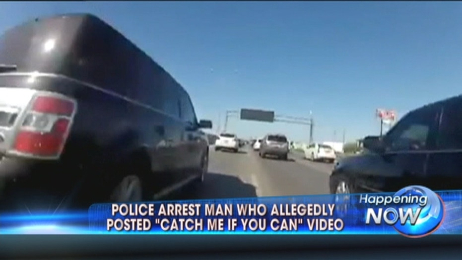 'Catch Me If You Can' Bike Rider Arrested By Police