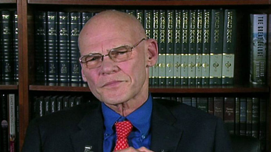 Carville: Unemployment is country's biggest problem