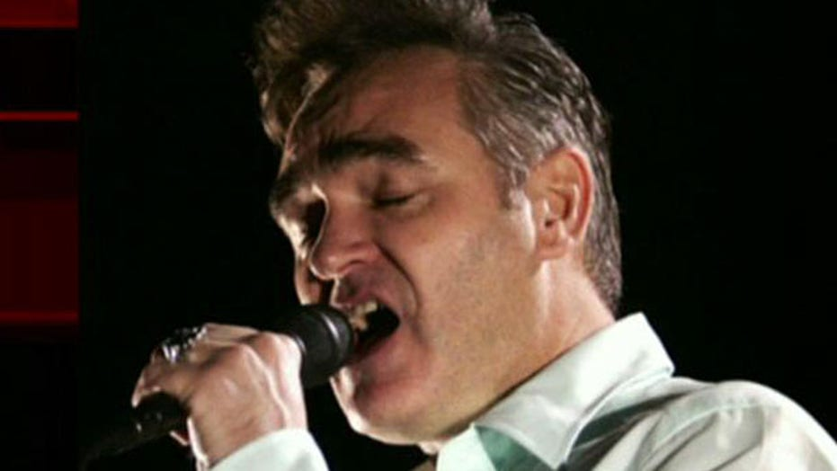 Morrissey holding meat-free concert at Staples Center