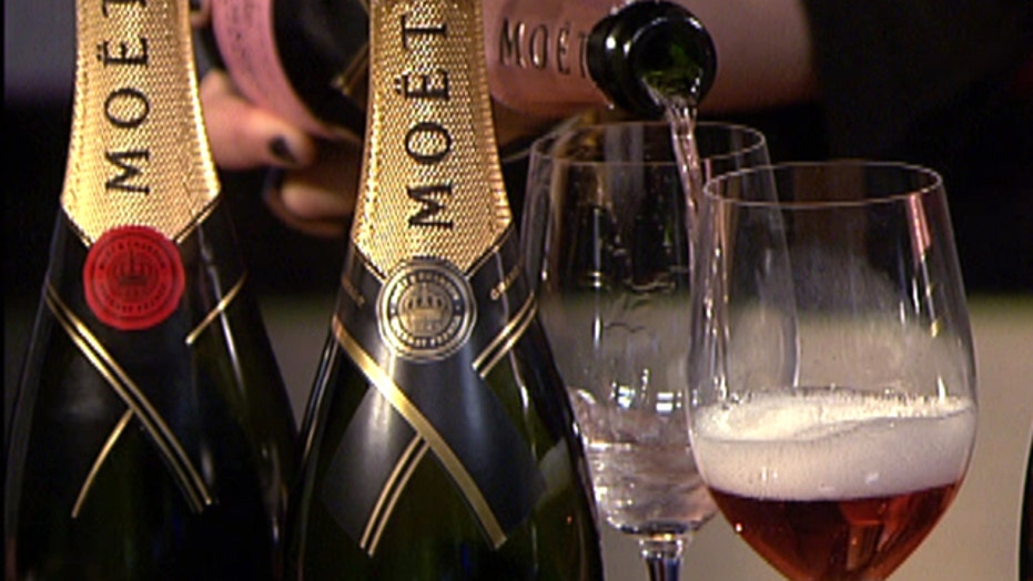 Champagne, the sommelier's drink of choice
