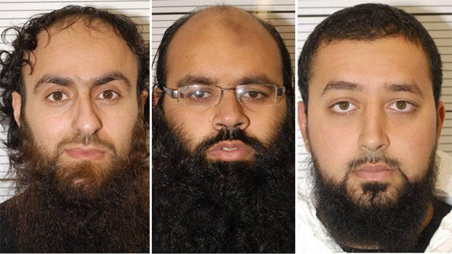 Jury finds 3 men guilty of plotting terror attacks in UK