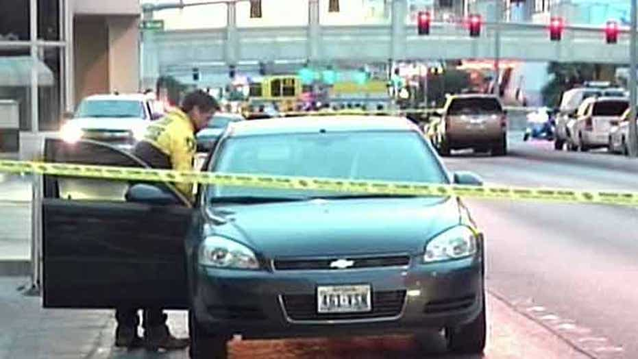 Three killed in 'rolling gun battle' on Las Vegas strip