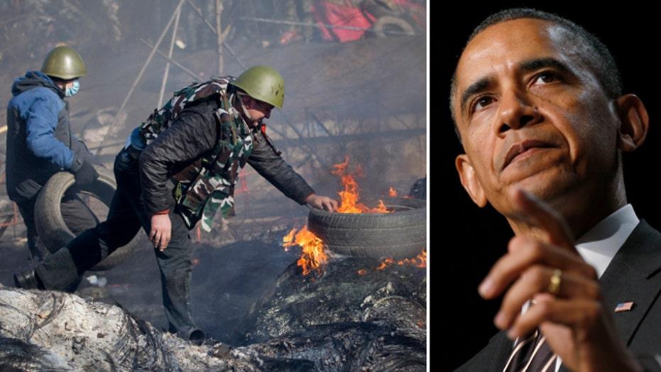 Debating Obama's leadership on the world stage
