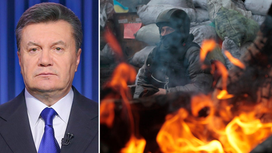 Ukraine crisis: 'This is not an uprising, this is war'