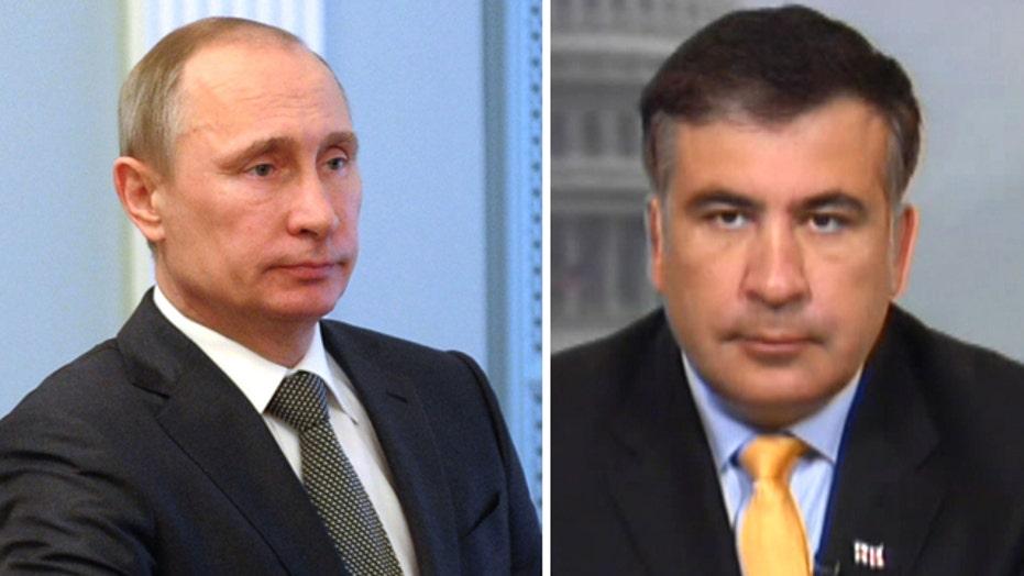 Fmr Georgia President: Putin buys power in Eastern Europe