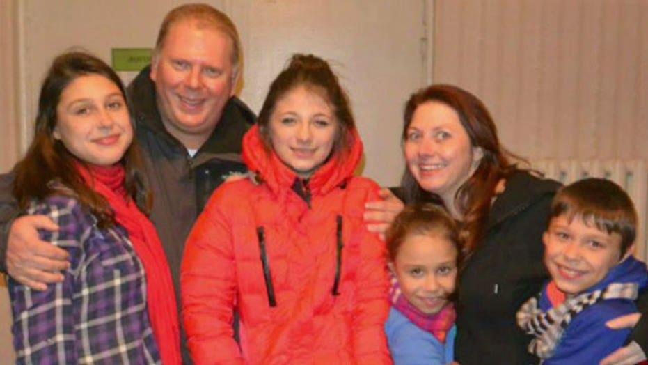 American family caught in Ukrainian chaos