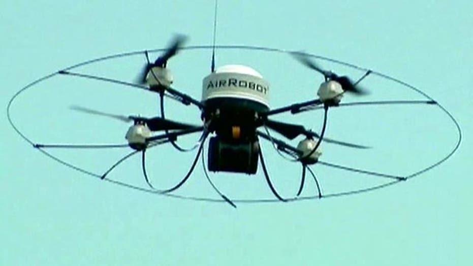 Debate over use of drones in American airspace