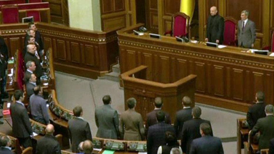 Ukraine appoints new president