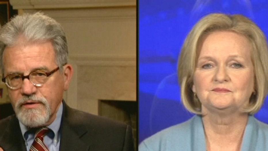 Sens. McCaskill, Coburn debate DC budget cut battle