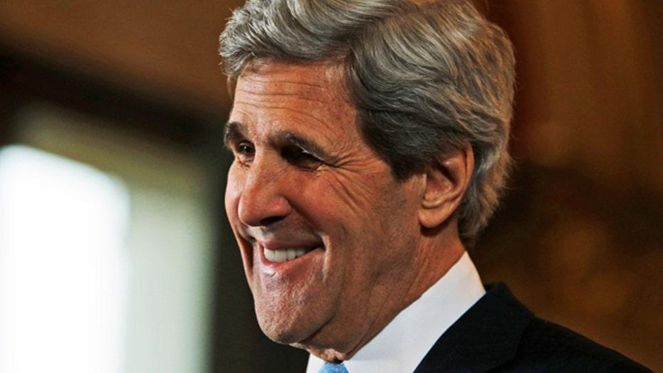 Secretary Kerry says door is open to Iran on nuke talks