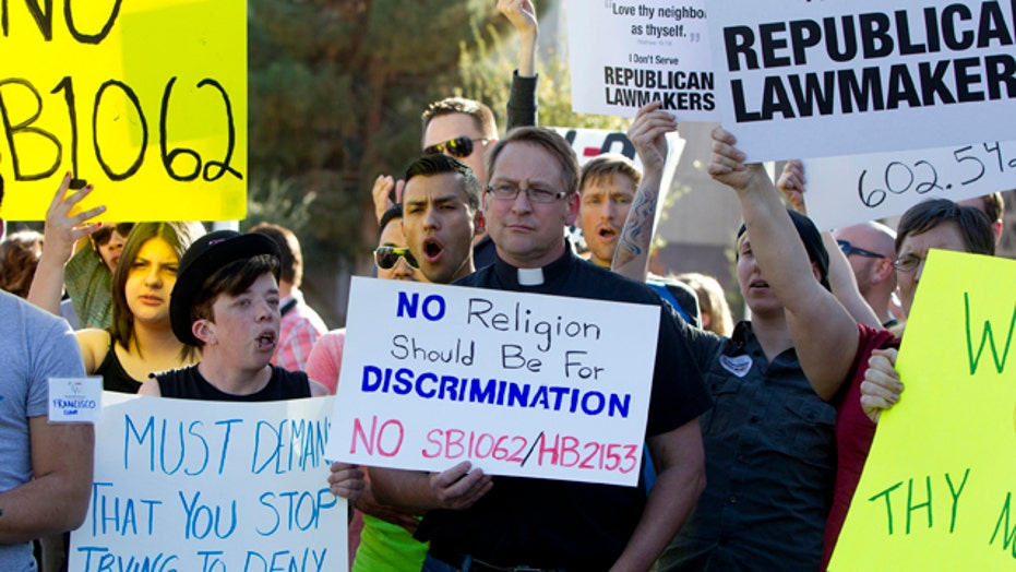 Critics blast AZ bill as 'state sanctioned discrimination'