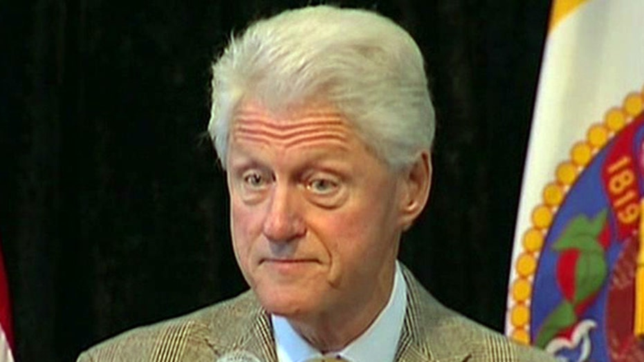 Bill Clinton on campaign trail in Kentucky