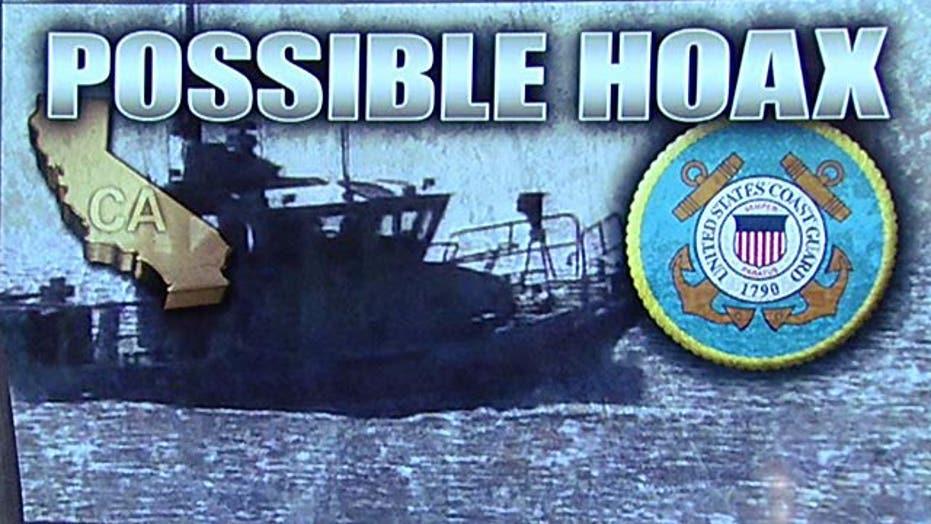 Boat's distress call a hoax?