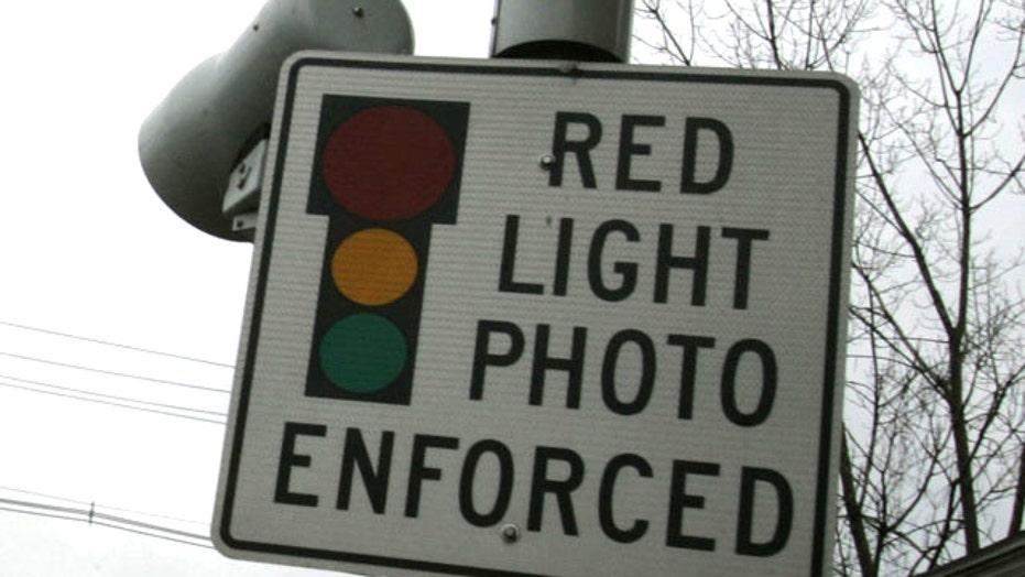 Backlash over red-light cameras