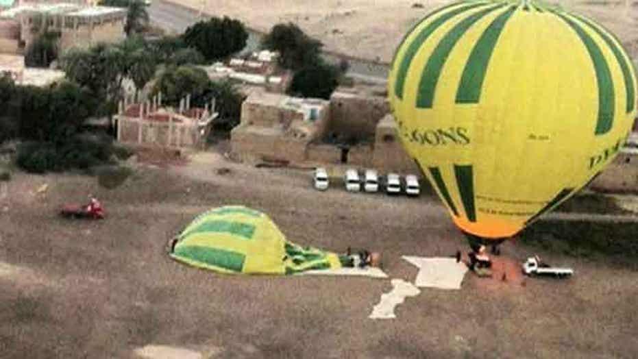Hot air balloon explosion leaves over a dozen dead