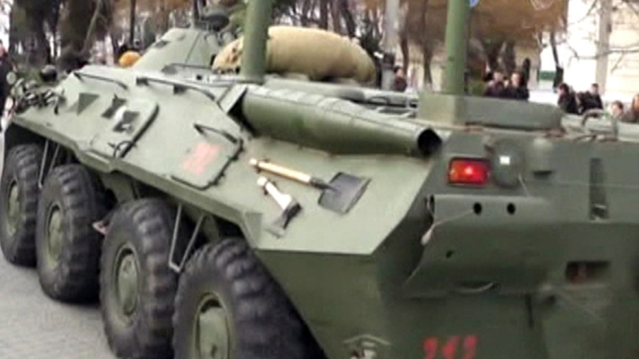 Russian military 'combat ready' as tensions grow in Ukraine