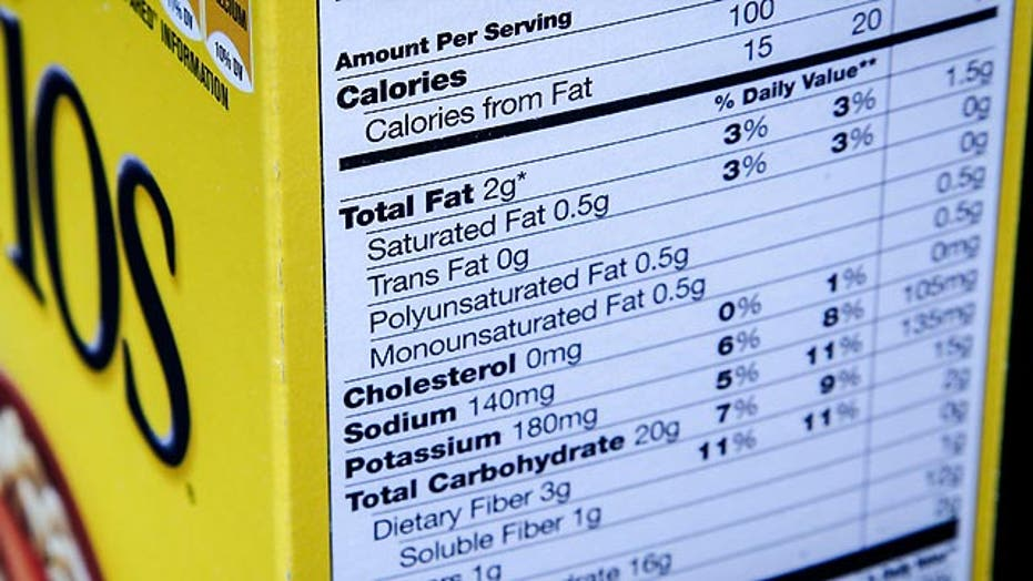 New food labels would highlight calories, sugar