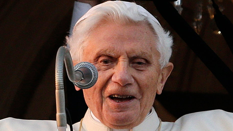 Pope Benedict XVI's final address as pope