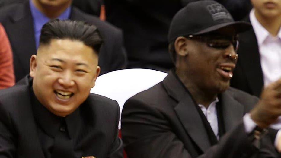 Grapevine: New friends Dennis Rodman, Kim Jong Un?