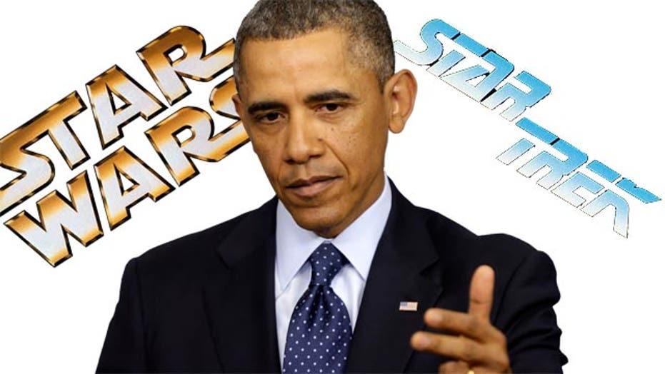 Grapevine: Obama's Wookie mistake