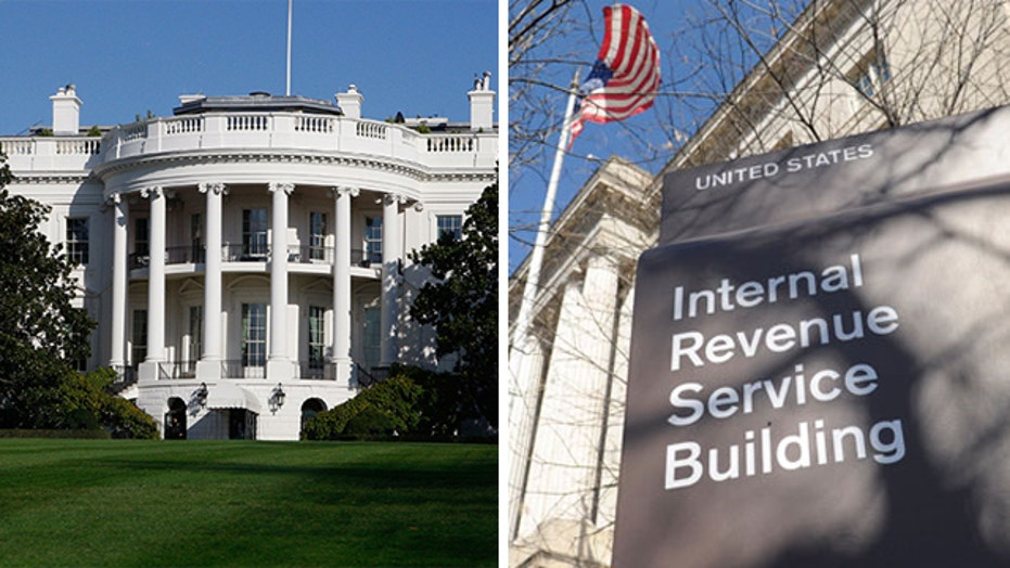 White House threatens to veto bill that would rein in IRS