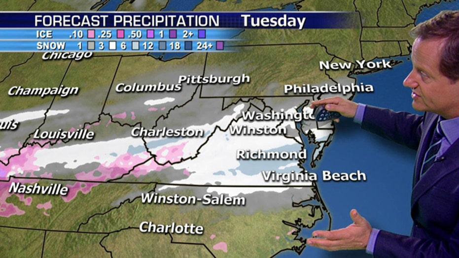 Major winter storm moves across US, heads Northeast