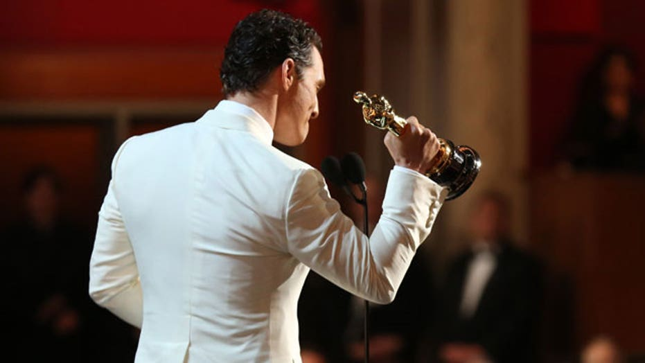 Oscars 2014: Matthew McConaughey, Cate Blanchett take home