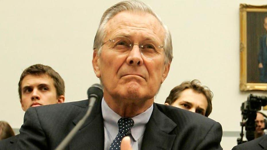 Rumsfeld on Ukraine, Obama-Putin, and America