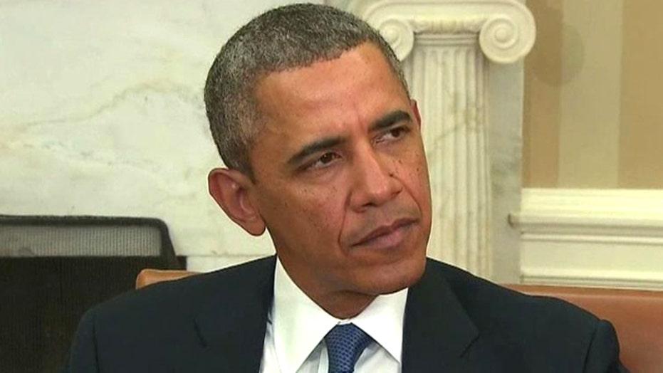 Obama: Steps Russia has taken violate 'international law'