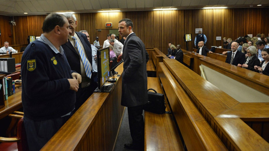 Witness breaks down during testimony at Pistorius trial