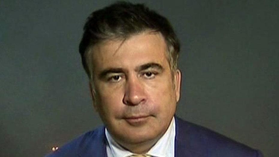 Saakashvili: Putin 'wants to be feared'