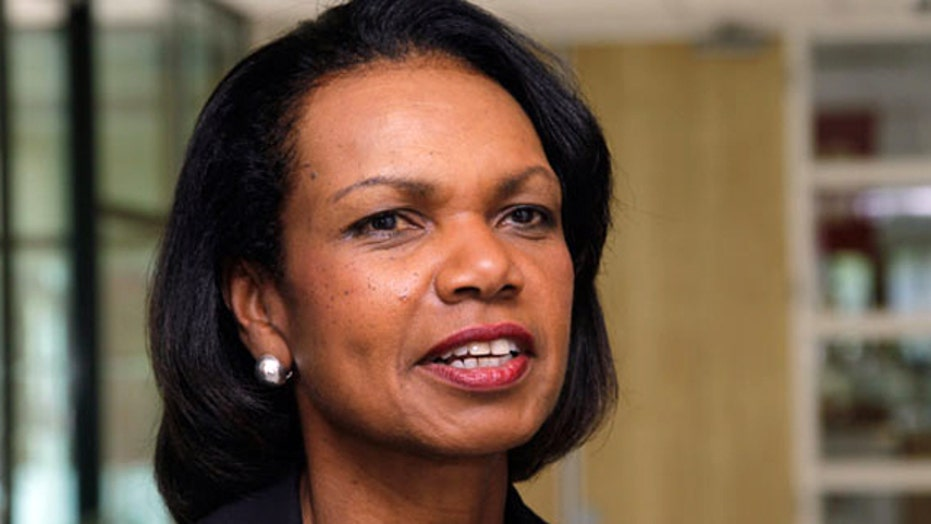 Rutgers protests Condoleezza Rice as graduation speaker