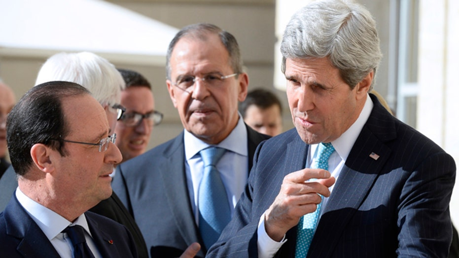 Top diplomats from West, Russia meet on Ukraine crisis