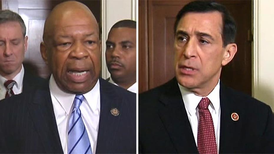 Issa, Cummings explain heated words at IRS hearing