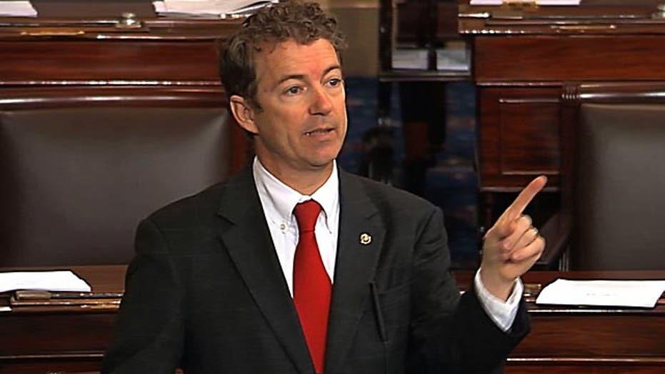 Sen. Rand Paul filibusters Brennan nomination