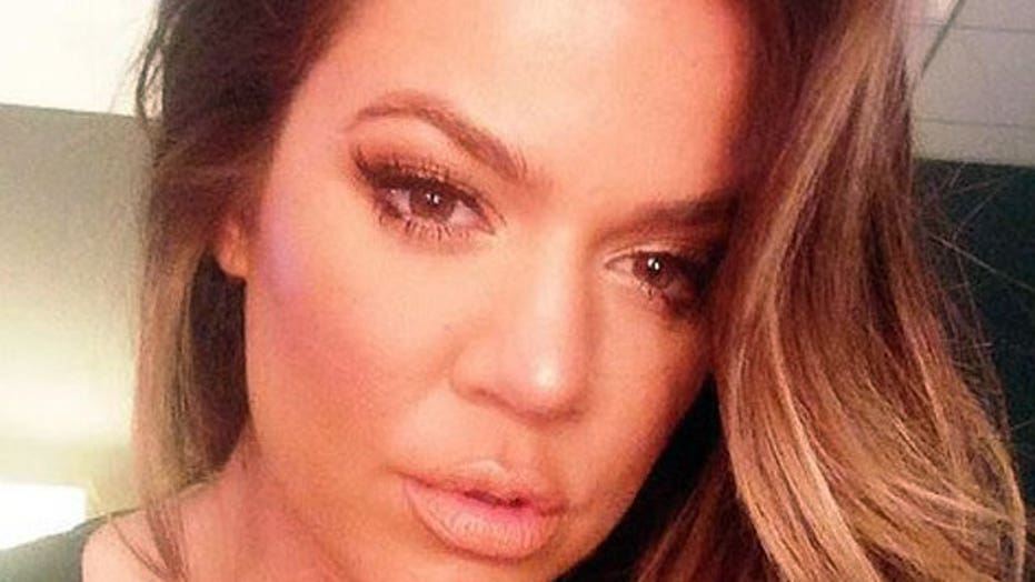 What did Khloe Kardashian do to her face?