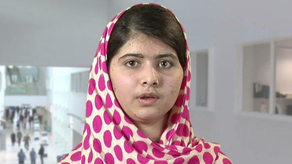 Pakistani girl shot by Taliban speaks out for kids' rights