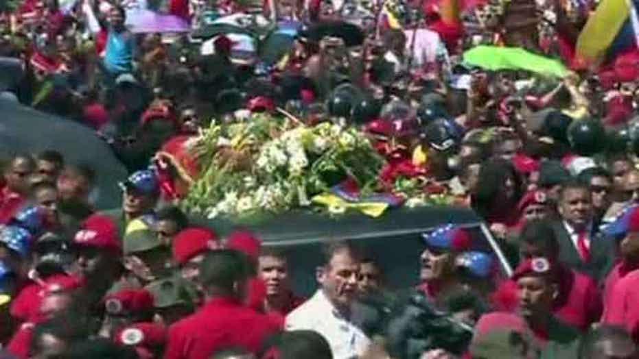 Funeral services for President Hugo Chavez