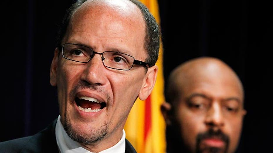 Tough questions for possible pick for labor secretary