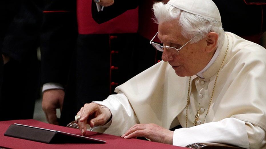 Do social media play a role in picking the next Pope?