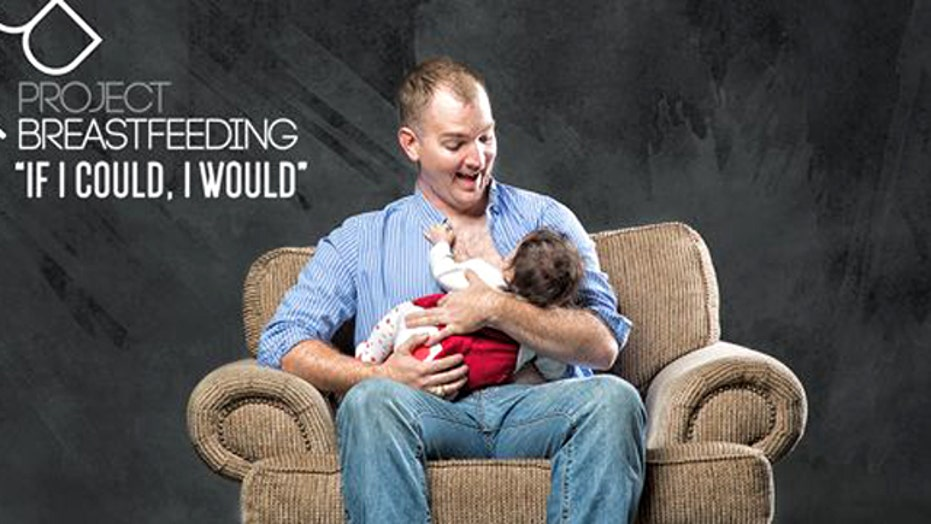 Tennessee father raising awareness about breastfeeding