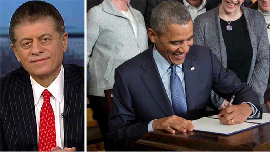 Napolitano on President Obama's executive actions