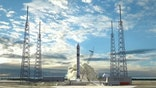Reusable rocket with metallic legs could revolutionize industry