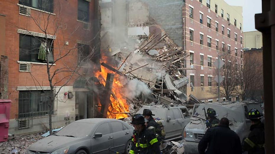 What are possible legal consequences of Harlem blast?