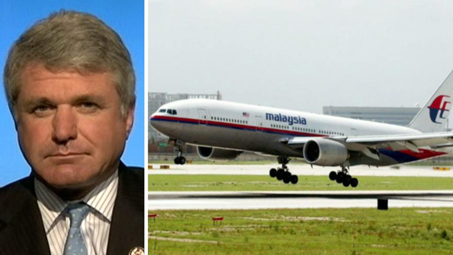 McCaul: Jet disappearance was an intentional, deliberate act