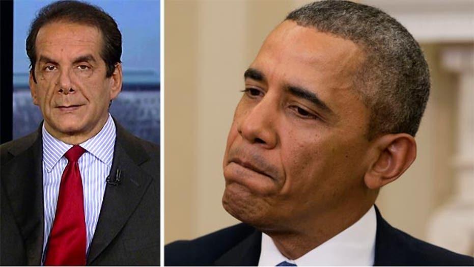 Krauthammer: Healthcare Bill in Obama's Head