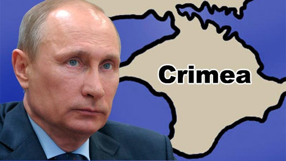 Reaction to Putin's declaration of Crimea independence