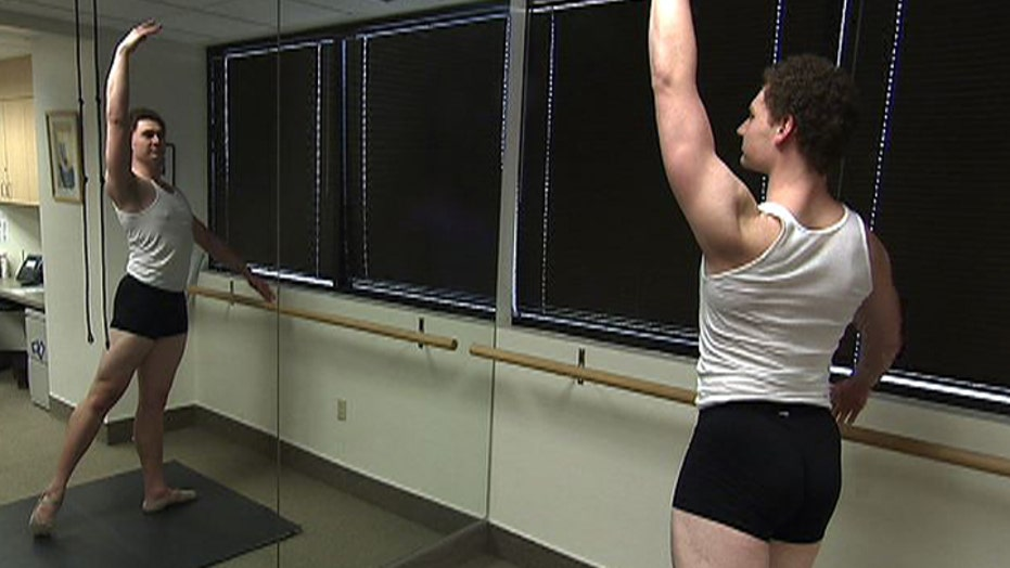 Rare ankle surgery gets dancer back on his toes