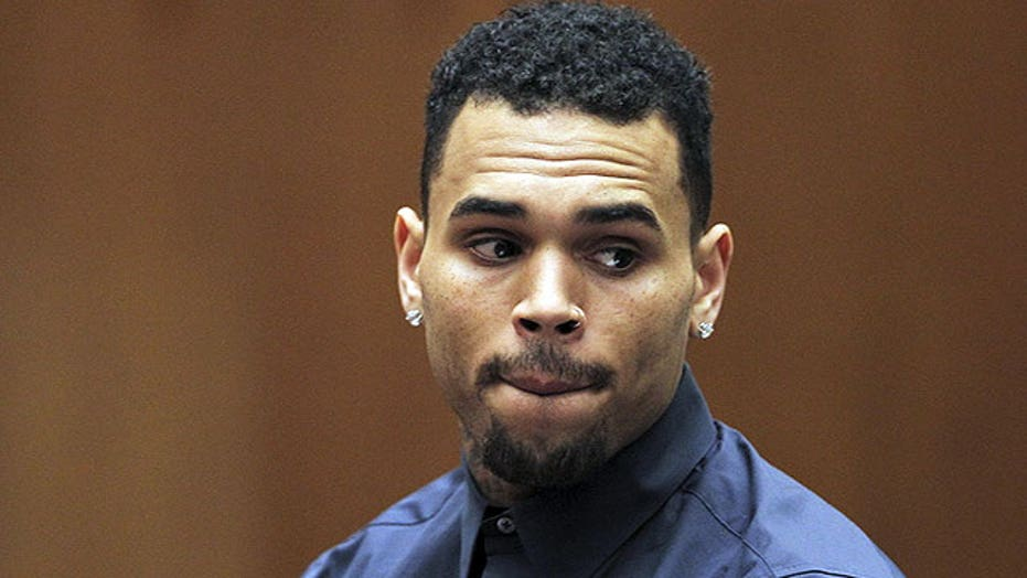 Chris Brown in deep doo doo